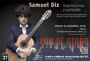 guitarrista Samuel Diz
