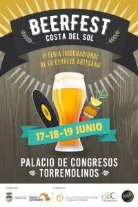 Cartel BEERFEST 2016  - Palacio Congresos Torremolinos