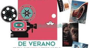 Los exteriores del Auditorio Felipe VI, Cine de Verano 2017