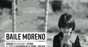 Farruquito lleva a El Portón su espectáculo 'Baile Moreno'