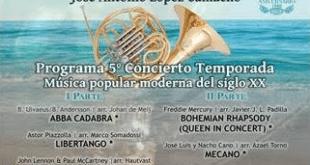 Quinto concierto de verano de la Banda Municipal de Estepona