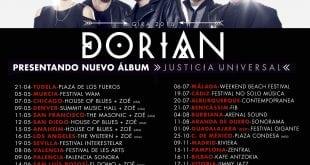 DORIAN llega con la gira de su nuevo trabajo a Málaga en julio