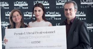 Bárbara Lennie, Belleza Comprometida de L'Oréal Professionnel
