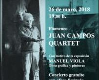 Juan Campos Quartet en el Ciclo de Conciertos del MGEC