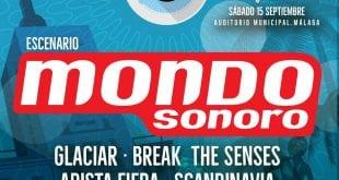 Escenario Mondosonoro en el Oh See Fest de bandas malagueños