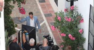 David Bisbal rueda un videoclip en las calles de Marbella