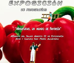 Exposición fotos Miniatura San Pedro