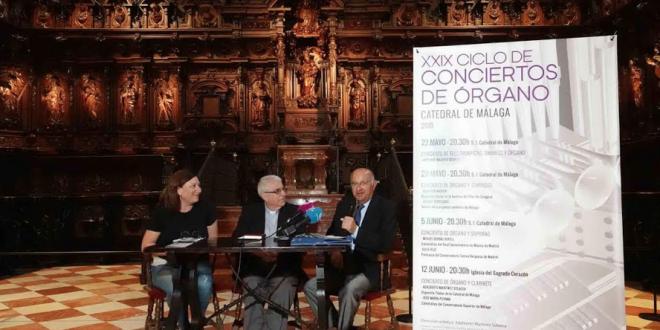 Conciertos de Órgano Catedral de Málaga