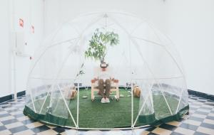 La Térmica instala 'The Bubble', Oxigenarte