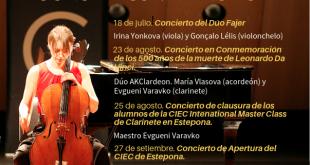 García Fajer inicia el programa de conciertos en Estepona