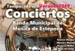 Concierto Banda Música Estepona, Oxigenarte