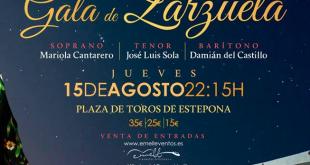La Plaza de Toros de Estepona, escenario de la Gala de Zarzuela