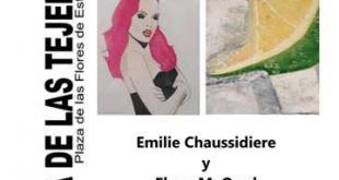 Exposición Emilie Chaussidiere y Elena M. Orad Estepona, Oxigenarte
